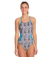 Speedo Flipturns Endurance Lite Fly On One Piece Swimsuit