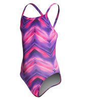 Speedo Endurance Lite Youth Pulse Flyback One Piece Swimsuit