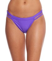 Sporti Solid Cheeky Bikini Swim Bottom