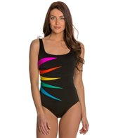 Longitude Fan Club Tank One Piece Swimsuit