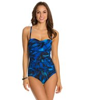 Longitude Swept Away Lingerie Tank One Piece Swimsuit