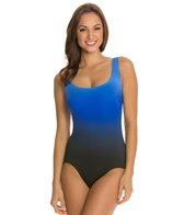 Longitude Brians Ombre Strappy Tank One Piece Swimsuit