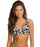 Jag Swimwear Maldives Stripe Convertible Back Bra Bikini Top