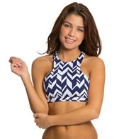 Jag Swimwear Maldives Stripe Reversible Racerback Bra Bikini Top