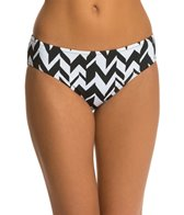 Jag Swimwear Maldives Stripe Reversible Retro Bikini Bottom