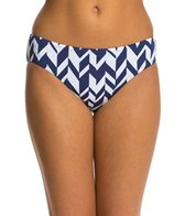 Jag Maldives Stripe Reversible Retro Bikini Bottom