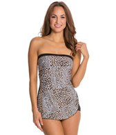 Gabar Wild Safari Bandeau One Piece Swimsuit