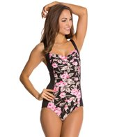 Gabar Retreat Rose Twist Front One Piece