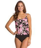 Gabar Retreat Rose Blouson One Piece Swimsuit
