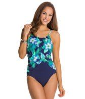 Gabar Canyon Flower High Neck One Piece Swimsuit