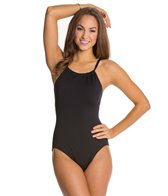 Gabar Solids High Neck One Piece Swimsuit