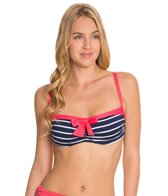 Beach House Skipper Stripe Underwire Bra Bikini Top