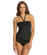 Beach House Solid Fly Away Tankini Top