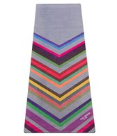 Yoga Design Lab Chevron Print Yoga Mat Towel Combo