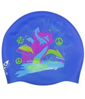 Rocket Science Sports Weapon Silicone Swim Cap