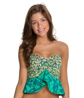Maaji Peplum Bloom Tankini Top
