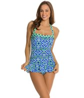 Penbrooke Fancy Flight Bandeau Skater Swimdress