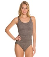 Penbrooke Krinkle Empire Mio One Piece Swimsuit