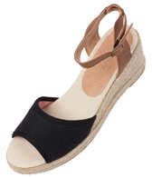 Soludos Women's Natural Linen Wedge Sandal