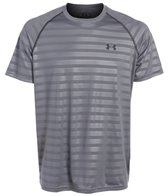 Under Armour Men's Tech Novelty Running Short Sleeve