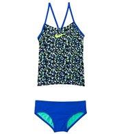 Nike Girls' Pixel Party V-Back Tankini Set (7-14)