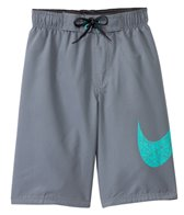 Nike Boys' Core Solid Breaker Swoosh 9 Volley Short
