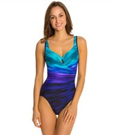 Miraclesuit Deep End Escape Underwire One Piece Swimsuit