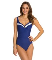 Miraclesuit Block Party Escape Underwire One Piece Swimsuit