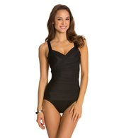Miraclesuit Novel Ideas Solid Bella Underwire One Piece