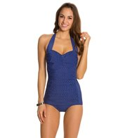 Miraclesuit Pin Point Spellbound Underwire Halter One Piece