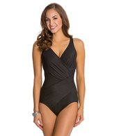 Miraclesuit Solid Oceanus Underwire One Piece Swimsuit (DD Cup)