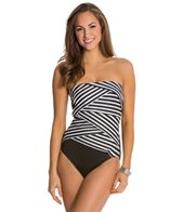 Miraclesuit New Directions Muse Banded One Piece Swimsuit