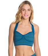 Beyond Yoga Stripe-Hype Baby Doll Bralet