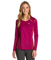 Salomon Women's Start Long Sleeve Running Tee