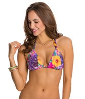 Nanette Lepore Playa Tropical Vixen Triangle Bikini Top