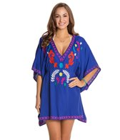 Nanette Lepore Flora Fiesta Embroidered Cover-Up Tunic