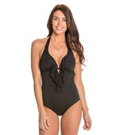 Laundry By Shelli Segal Belladonna Scalloped One Piece