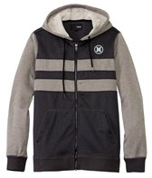 Hurley Men's Therma-Fit Block Party Zip Fleece Wetsuit Hoodie