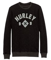 Hurley Men's Retreat All Stars Crew Fleece Sweater