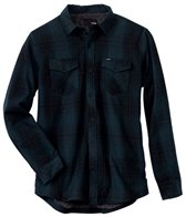 Hurley Men's Saxon Sherpa Long Sleeve Flannel