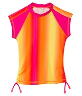 Seafolly Girls' Sunrise S/S Rashie (6-16yrs)