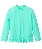 Seafolly Girls' Go-Go Girl Flutter Bye Long Sleeve Rashie (Newborn-7yrs)