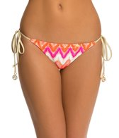 Luli Fama Flamingo Beach Brazilian Tie Side Bikini Bottom