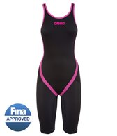 Arena Powerskin Carbon Flex Limited Edition Open Back Full Body Short Leg Tech Suit Swimsuit