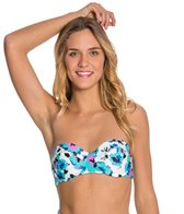 Volcom Floral Junkie Underwire Bandeau Bikini Top