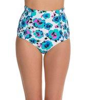 Volcom Floral Junkie High Waist Bikini Bottom