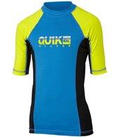 Quiksilver Boys' Extra Extra Short Sleeve Rashguard (4-16)