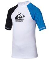 Quiksilver Boys' Shaka Short Sleeve Rashguard (4-16)