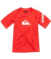 Quiksilver Toddler Boys' All Time Short Sleeve Rashguard (2T-4T)