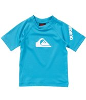 Quiksilver Infant Boys' All Time Short Sleeve Rashguard (6-24mos)